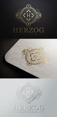 Create a luxury logo for Herzog Dance Studios