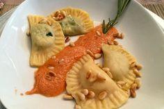 Ravioli mit Spinat - Ricotta in Salbei - Butter