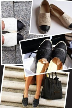 Love the all black- Chanel espadrilles