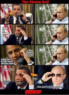 Obama vs. Putin - all talk