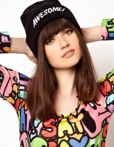 Discover the latest fashion and trends in menswear and womenswear at ASOS. Shop this season's collection of clothes, accessories, beauty and more. Crazy Outfits, Outfits With Hats, Summer Dress Outfits, Spring Outfits, Hats Tumblr, Hat Hairstyles, Fashion Story, Alternative Fashion, Beanie Hats