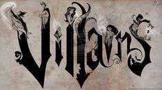 Disney+Villains+on+Canvas+by+MattesWorks.deviantart.com+on+@DeviantArt