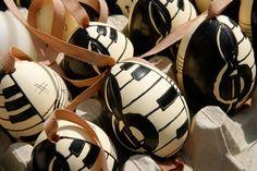 Music Easter eggs!  Steph
