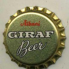 Albani Giraf Beer Beer Bottle Caps, Beer Caps, Bottle Top, Beer Bottles, Odense, Architecture Quotes, Wedding Humor, Funny Art, Vintage Ads