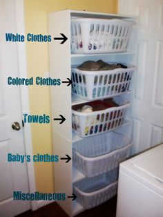 1000 images about small spaces storage on pinterest laundry baskets laundry and laundry rooms - Hamper solutions for small spaces minimalist ...