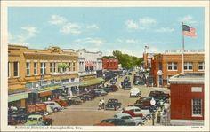 Nacogdoches Texas - 1940's?