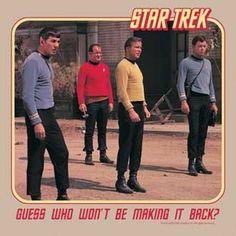Star Trek Guess Who Won't Be Sand T-Shirt