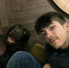 Maverick and his Dog