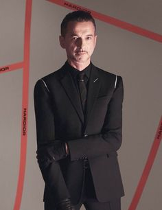 Dave Gahan @ Dior Homme Winter 2017-2018 Ad Campaign