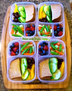 Pack lunch fast and healthy with @EasyLunchboxes lunch box containers!