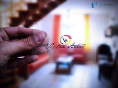Cartões Transparentes em PVC Digital.