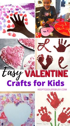 15 Adorable Valentine Crafts Toddlers Will Adore Easy Preschool Crafts, Crafts Toddlers, Valentine's Day Crafts For Kids, Summer Crafts, Cute Crafts, Holiday Crafts, Easy Crafts, Toddler Valentine Crafts, Valentines Day Activities