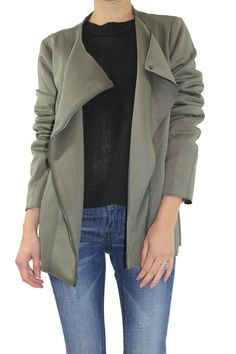 Oversized Moto Jacket - ShopFrankies.com