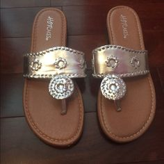 32b7399c00c9 Jack Rogers inspired sandals Great condition! Only worn once! Message me  for more details! Hot Cakes Shoes Sandals