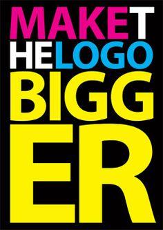 客戶的LOGO永遠是最重要,比整體美感重要多了?