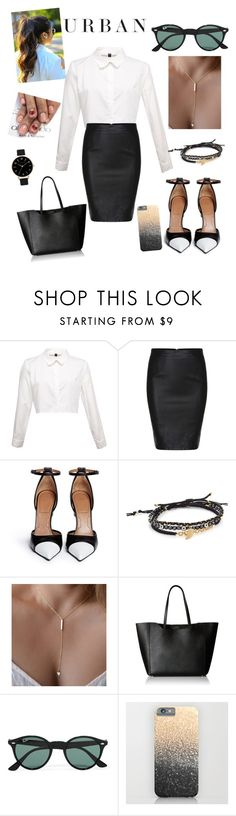 """""""Untitled #8"""" by athina-maria-dimitriou on Polyvore featuring Givenchy, Tai, Furla, Ray-Ban, Olivia Burton, women's clothing, women, female, woman and misses"""