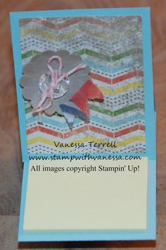 Stamp with Vanessa - project using product from This and That bundle!