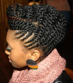 HOW TO STYLE CURLY BRAIDED UPDO FOR NATURAL HAIR STYLES Start by washing your hair using leather hair bathe and cream hair rinte to remove any product residues and make your hair easy to work on. Apply Afrodisia 9 leave-in hair portion to detangle and reduce frizz on your hair. Afrodisia 9 leave-in hair portion also has UV-protection which will help you protect your hair against UV-light and emissions.  - See more at: http://www.askmamaz.com/natural-hair-styles/#sthash.i34DHl4w.dpuf