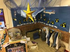 Nativity role play area EYFS More