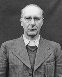 """Doctor Viktor Brack, organiser of Nazi Germany's T4 """"Euthanasia programme"""". During its operation, physicians killed thousands of people who were """"judged incurably sick, by critical medical examination"""". The programme officially ran from September 1939 until August 1941, but it continued unofficially until the end of the Nazi regime in 1945."""
