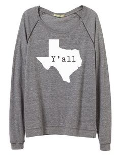 Hey, I found this really awesome Etsy listing at https://www.etsy.com/listing/210866345/yall-trendy-long-sleeve-pullover