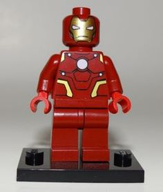 Iron Man LEGO Exclusive Minifigure