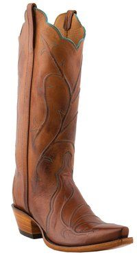 Lucchese Classics - L4719 - Ladies Lucchese with New Matador Cord in Vamp
