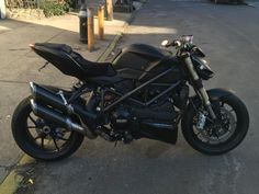 Termignoni carbon fiber exhausts on Ducati Streetfighter 848