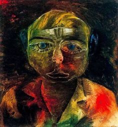 """Young Proletarian"" by Paul Klee Joan Miro Paintings, Chagall Paintings, Paintings Famous, Famous Artwork, Modern Art Paintings, Artwork Paintings, Indian Paintings, Kandinsky For Kids, Kandinsky Art"