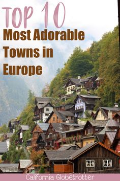 travel destinations places to visit Top 10 Most Adorable Towns in Europe Europe Destinations, Cities In Europe, Travel Europe, Most Beautiful Cities, Beautiful Buildings, Cool Places To Visit, Places To Travel, Old Town Gdansk, Travel Nursery