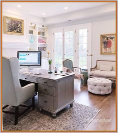 Unfinished gaps will even show up when you wall paper a home office office -- Check out the image by visiting the link. #homeofficedecor