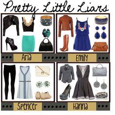Pretty Little Liars, created by roxxymoretti