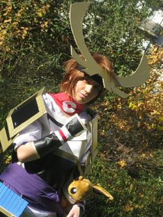 - Character : Hero Player  - Game : Pokémon Conquest My first cosplay  (made by me)  #Pokemon #PokemonConquest #Cosplay