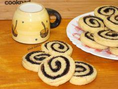 Kakaós linzer csiga Food And Drink, Vegan, Cookies, Advent, Christmas, Drinks, Mint, Yule, Biscuits