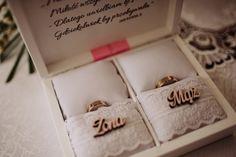 Beata & Damian - reportaż ślubny, fotografia Iwandowski.com Wooden Ring Box, Wooden Rings, Wooden Boxes, Wedding Ring Box, Wedding Day, Glass Boxes, Flowers In Hair, Wedding Planner, Decoupage