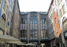 Berlin, Germany: Hackescher Hofe: Historic building at Hackescher Markt.