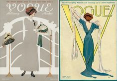 Vogue used to be this... click this link to see others and compare them to the vogues today. There is no more class!