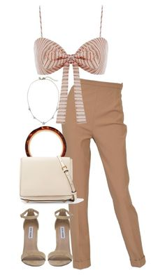 """""""Untitled #5480"""" by theeuropeancloset on Polyvore featuring Hermès, Zimmermann, Steve Madden and Marni"""
