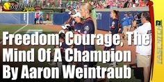 """We have all seen """"mentally tough"""" athletes on television perform in huge situations in front of millions of viewers with complete freedom. If you look for it at any little league game, you will see some nine-year-olds carrying the weight of the world on their shoulders. Why are both scenarios so common?  Click on the picture to read this article.  Sponsored by http://SoftballJunk.com/"""
