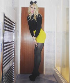 https://flic.kr/p/sjNrs8 | Neon Skirt | Shoes are from shoes of prey as a few have asked