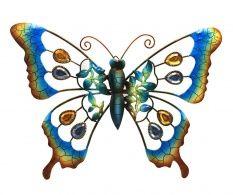 Decoratiune Blue Ice Butterfly