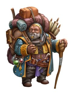 DWARF MERCHANT_2015 by Markus-Art-Design