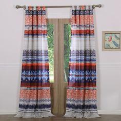 Urban Bobo 2-pack Curtains - 42'' x 84'', Blue