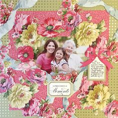 Anna Griffin® Rose Collection Scrapbooking Set