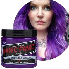 Manic Panic: Electric Amethyst aka option #1 for new hair