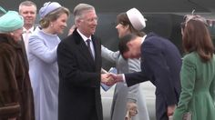 Danish Royal Family welcome King Filip and Queen Mathilde | NEWMYROYALS & HOLLYWOOD FASHION