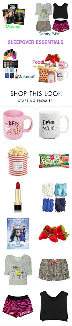 """""""Sleepover essentials!!"""" by somegirlnamedriaa ❤ liked on Polyvore featuring Suck, The Hampton Popcorn Company, Iscream, Dolce&Gabbana, NARS Cosmetics, Illamasqua, Disney, Calvin Klein Underwear and Kiki de Montparnasse Sleepover Outfit, Girl Sleepover, Chill Outfits, Cute Outfits, Collage Outfits, Things To Do At A Sleepover, Popcorn Company, Calvin Klein Underwear, Summer Essentials"""
