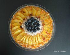 Receta de la tarta de manzana en olla programable GM