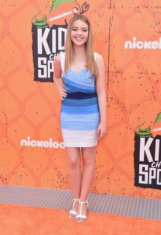 Actress Jade Pettyjohn  attends the Nickelodeon Kids' Choice Sports Awards 2016 at UCLA's Pauley Pavilion on July 14, 2016 in Westwood, California.