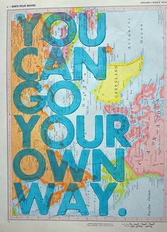 You Can Go Your Own Way by amyriceart shorten to: go your own way...